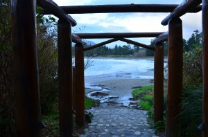 From the camp - walking to MacKenzie Beach