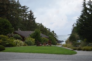 A beautiful camp with nice seaside cabins - more pricey than other places we have stayed