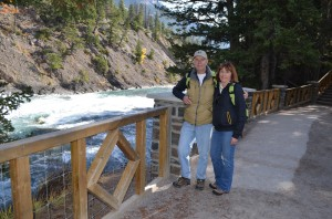 Me and my Bride by the Bow River