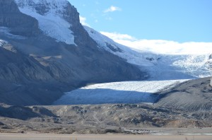 Athabasca Glacier - Columbia Icefields