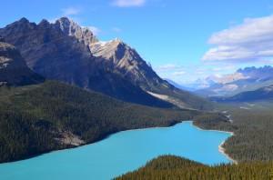 Peyto Lake - Bow Valley Summit - 7,000'