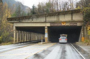 Avalanche tunnel - Roger's Pass
