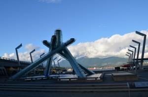 2010 Winter Olympics Cauldron