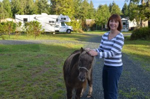 Kathy and Snickers