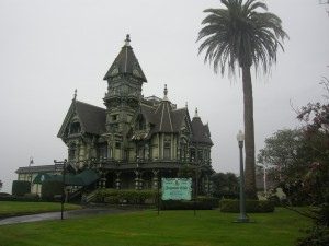Carson Mansion - check out the web link