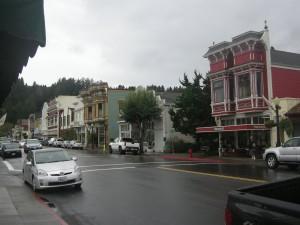 Downtown Ferndale - A pretty Victorian town