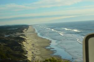 Beginning of Oregon Dunes area