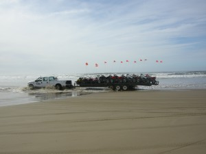 ATV rentals is a big business in Oceano at the Dunes