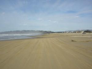 Miles of beach