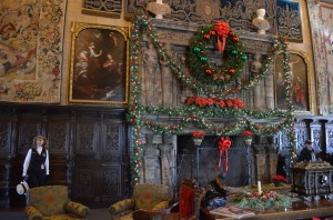 """In the """"Assembly Room""""- the fireplace"""