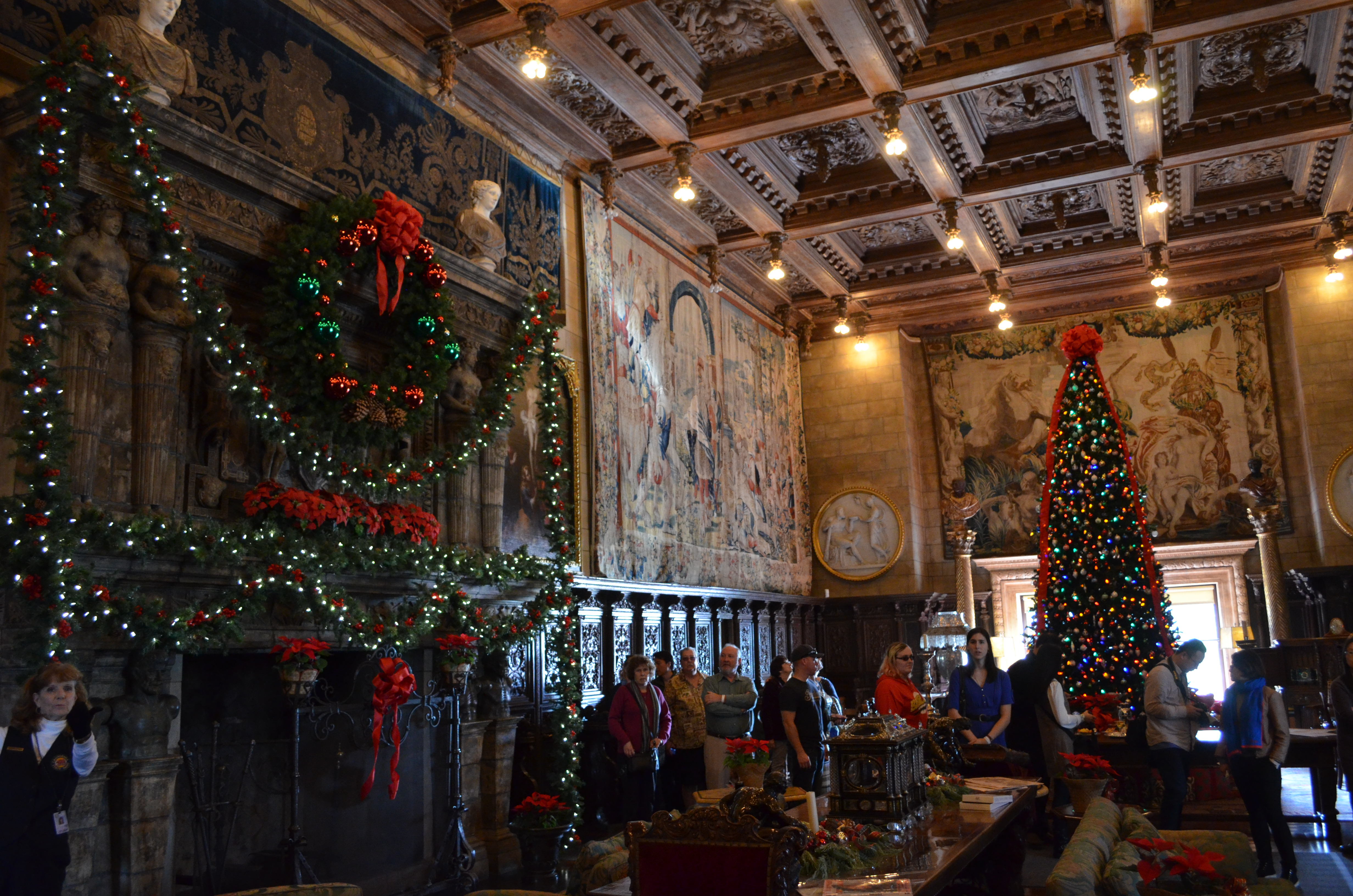 hearst castle christmas