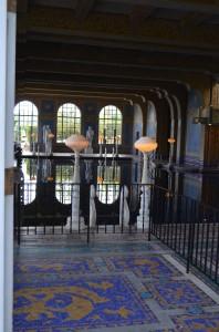 Doorway to the Indoor Roman Pool