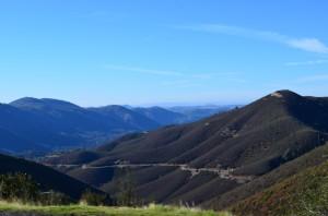 Climbing the Sierra Nevada's around 3,000'