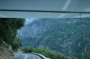 winding our way to Yosemite