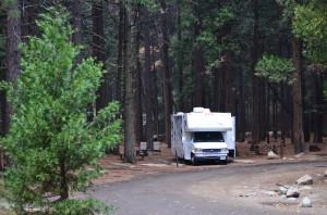 Dry camping in Yosemite NP