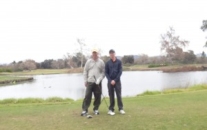 Golfing-New Years Eve Morning-only around 50 deg but fun