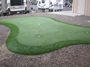This weeks golf cours