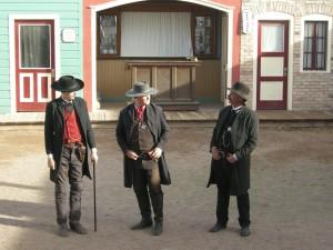 Gunfight at the OK Corral reenactment