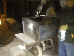 Portable mine toilet- 2 holer