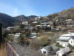 Residential area of Bisbee