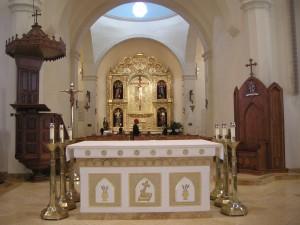Inside San Fernando Cathedral