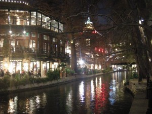 The River Walk - Friday night
