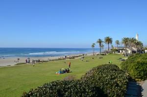 Del Mar CA - park and beach