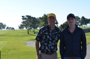 Torrey Pines (famous PGA Golf Course) in background