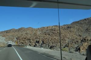 Rock and more rock east of El Cajon - toward Arizona border
