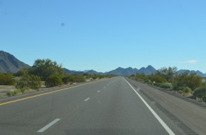 Nothing but open road
