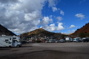 Queen Mine RV Park-Bisbee - no frills but right in town