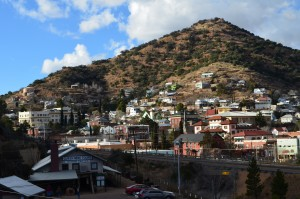 Town of Bisbee from our park
