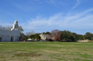 The grounds of San Juan