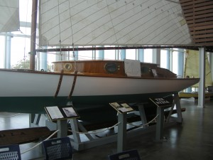 A restored Sailing racing legend - the Nydia - built in 1896