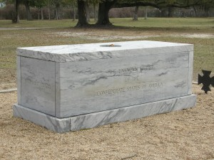 Grave of the Unknown Confederate soldier