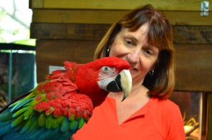 Kathy and Zazu. What a great day!!
