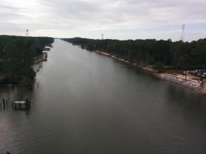 The Intercoastal Waterway at Gulf Shores