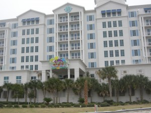 We are at The Margaritaville Beach Hotel