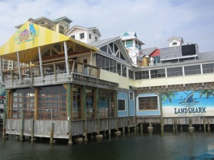 Margaritaville is right on the water