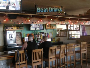 Boat Drinks Bar at Jimmy's, PCB