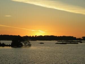 Our first Cedar Key sunset