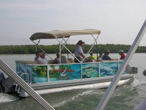The other Pontoon Boat that joined us
