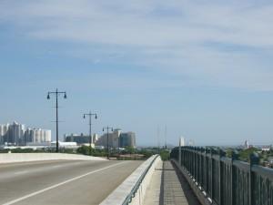 "Biking the "" Big"" bridge to Daytona Beach"