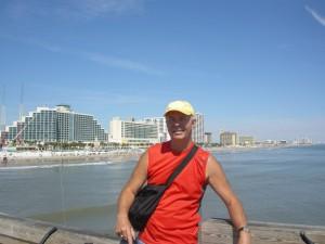 Rob on the Daytona Beach Pier