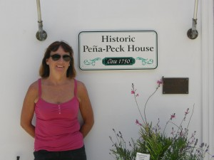 Kathy's maiden name (Peck)