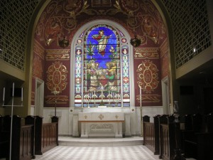 One of many beautiful churches