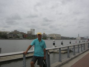 Looking back to Savannah