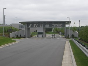 Entering the Hendrick Motorsports Complex