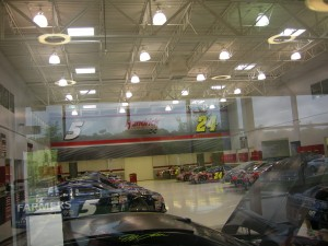 Various cars being built for Kasey Kahne and Jeff Gordon