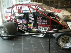 One of Jeff Gordon's cars before he started in NASCAR 20+ years ago